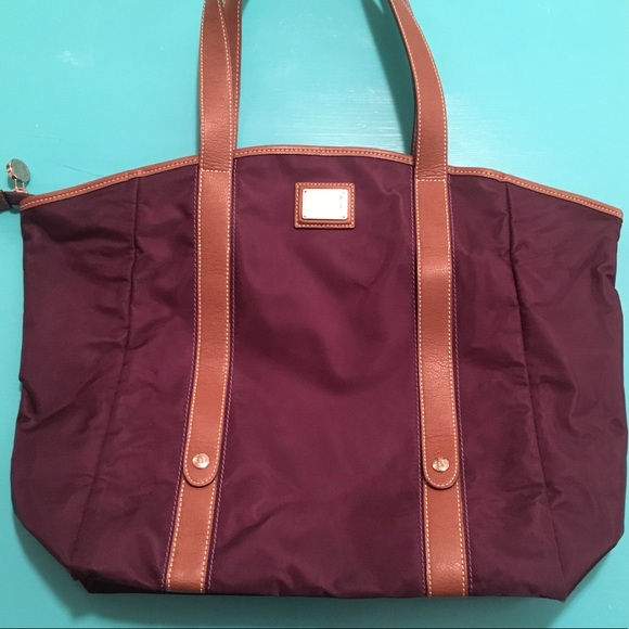 9981e8b572 Lancel Handbags - Lancel Paris Travel Tote with Wine Bag